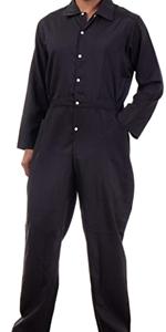 black unisex jumpsuit jump flight suit flightsuit