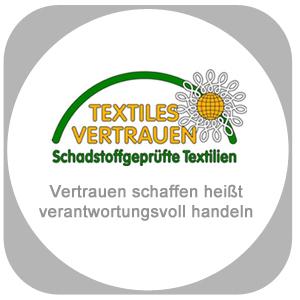 Schadstoff geprüfte Textilien