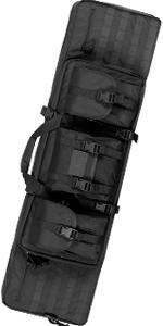 Double Long Rifle Pistol Gun Bag