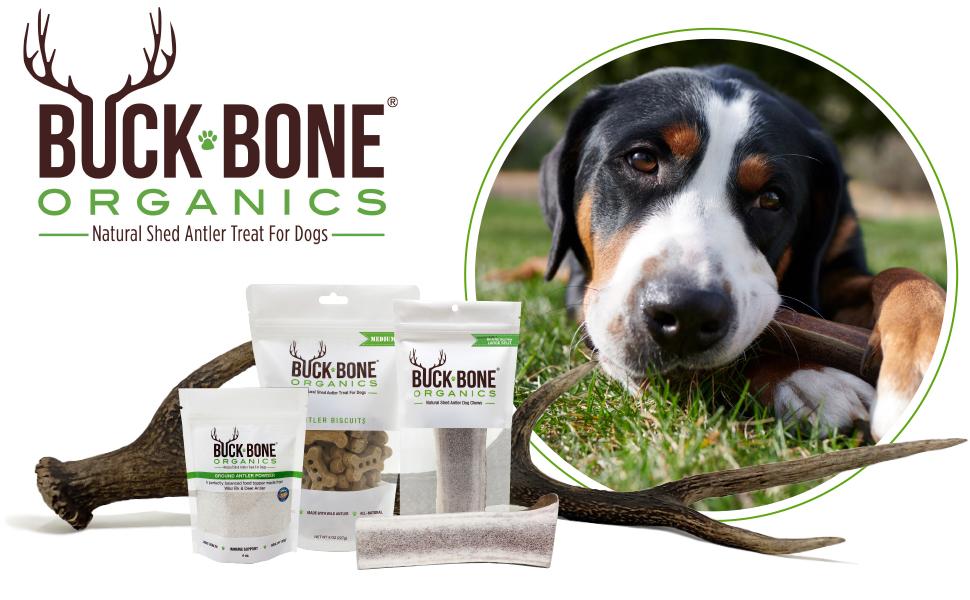 Buck Bone Organics, Elk Antler Chews, Dog Treats, Antler, Dog Bones, Dog Bone,