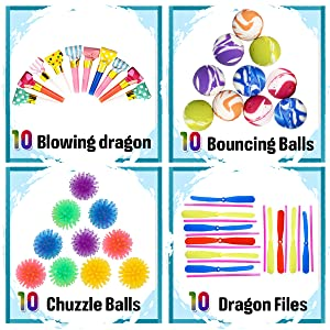 CozyBomB Party Favors for Kids Prizes - Bulk Assortment Toys Best for Birthday Party Giveaways