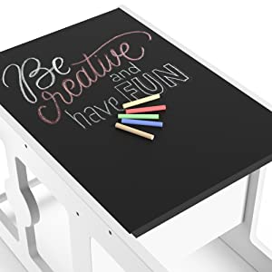chalkboard-for-toddler-desk-helper-tower-for-learning-kids