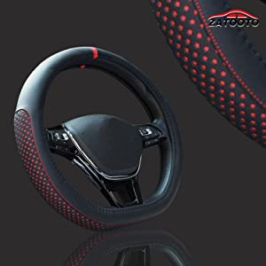 D shaped steering wheel cover