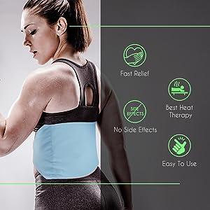 orthopedic heat belt, electric heating pad, pain relief belt, muscle pain heat belt, muscle heat