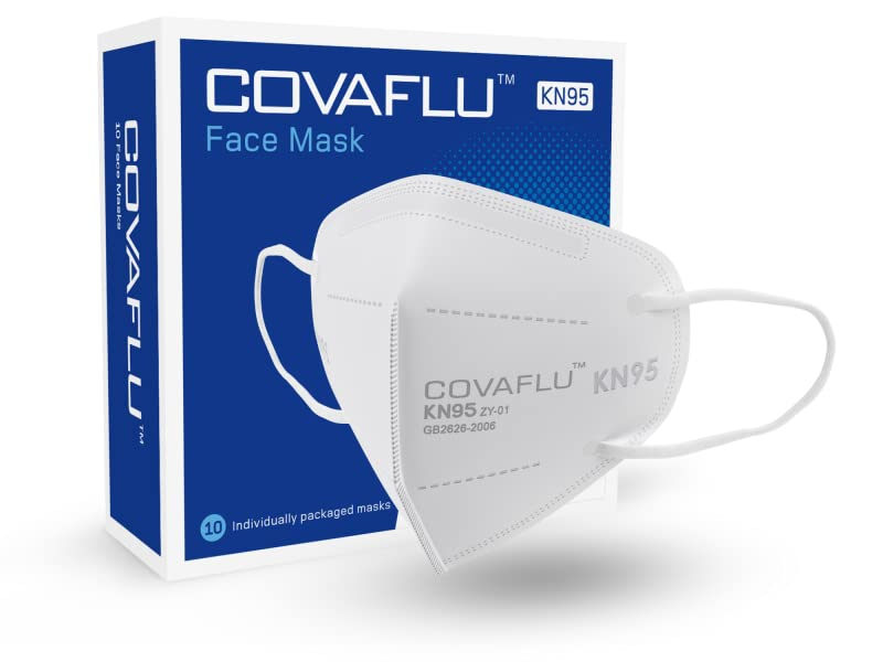 covaflu kn95 face mask box of 10
