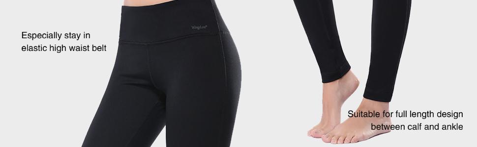 Wingslove Frauen Workout Yoga Laufen Hose Leggings Pants Sporthose Trainingshose