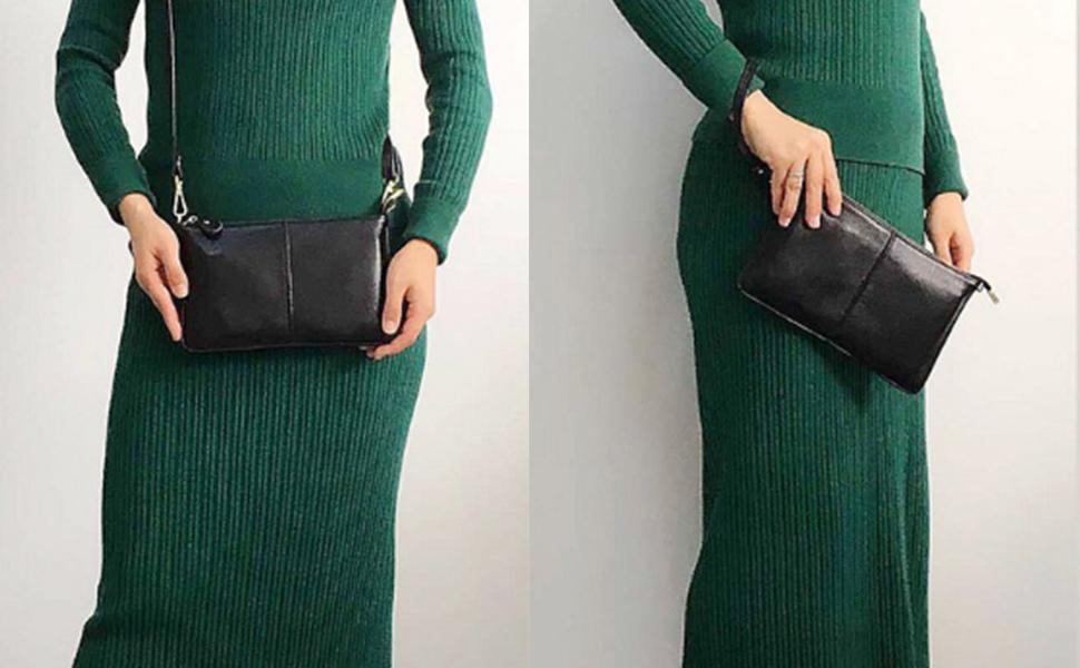 Ladies PU Leather Shoulder Bag