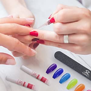 makartt acrylic nail glues