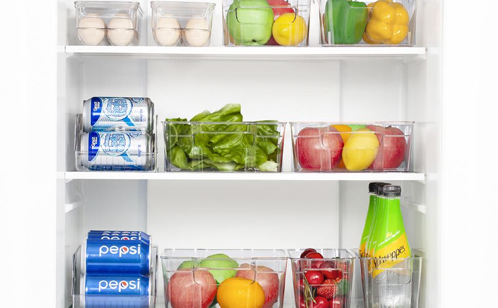 fridge bins