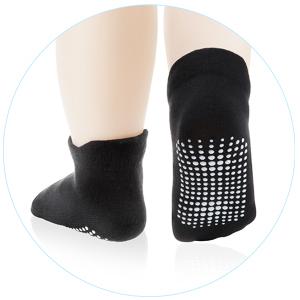 Black baby socks