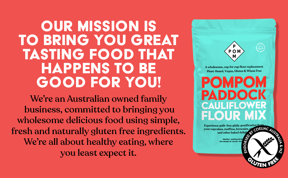 Great tasting food that is good for you, Australian owned