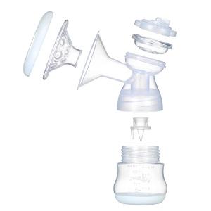 Decdeal - Sacaleches Eléctrico Recargable con Cojín Masajeador para la Lactancia, Sin BPA, Rosa
