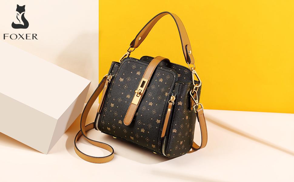 Monogram Canvas+Leather Shoulder Crossbody Purse Strap Handbags REplacement 3cm