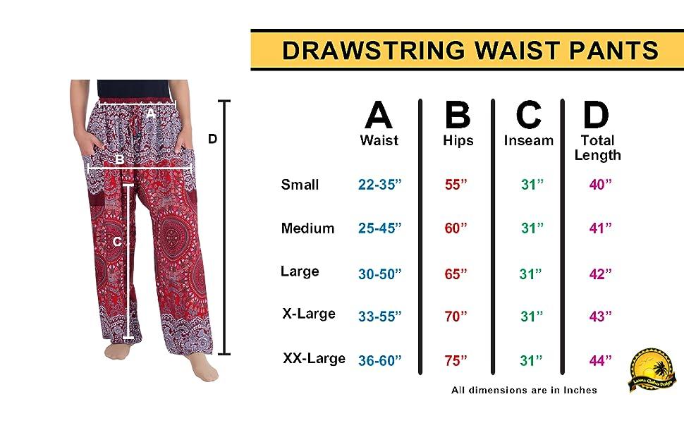 drawstring harem pants women hippy plus size boho bottoms lounge sweatpants comfy festival wear