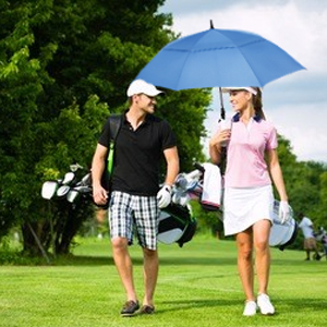 Umbrellas for golf clubs