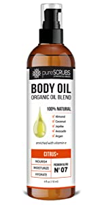 pureSCRUBS Citrus+ Body Oil