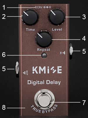 delay pedal