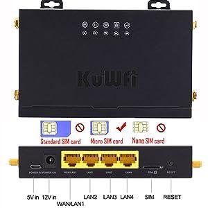 KuWFi 4G LTE Router