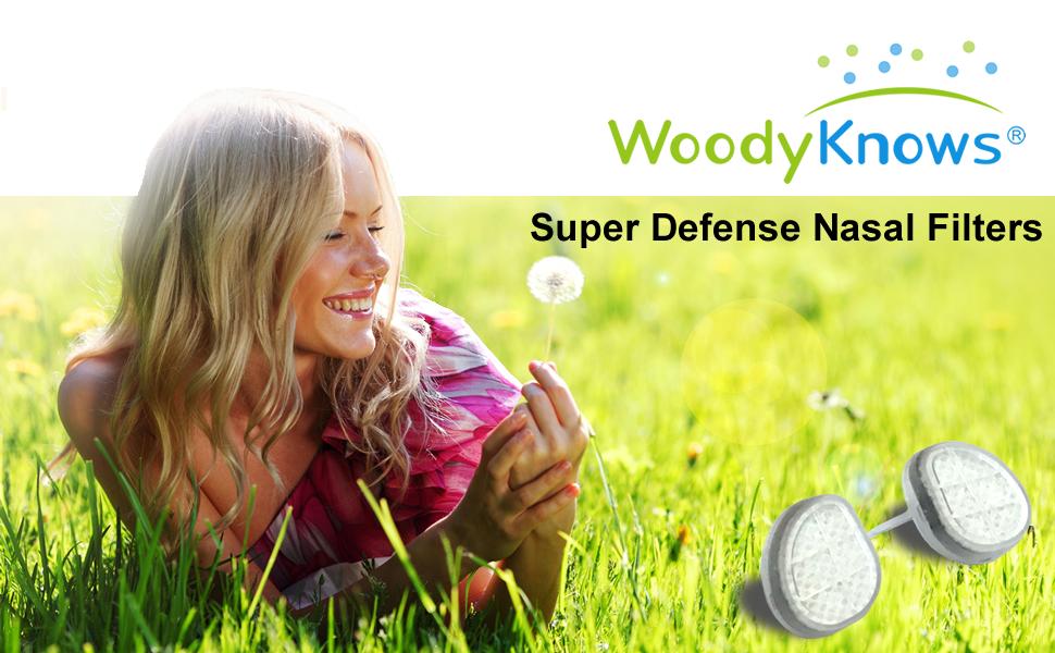 WoodyKnows超防御鼻过滤器