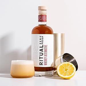 Ritual Zero Proof Whiskey Sour