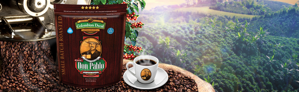 2LB DON PABLO SWISS WATER PROCESS COLOMBIAN DECAF