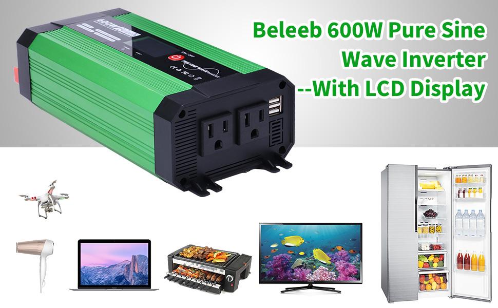 600W Pure Sine Wave Inverter