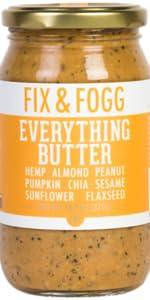 everything, butter, fix & fogg