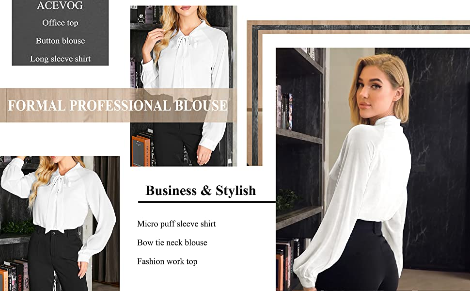 business long sleeve tops