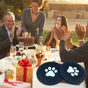 BukNikis Dog Paw Car Cup holder Coasters- great gift ideas