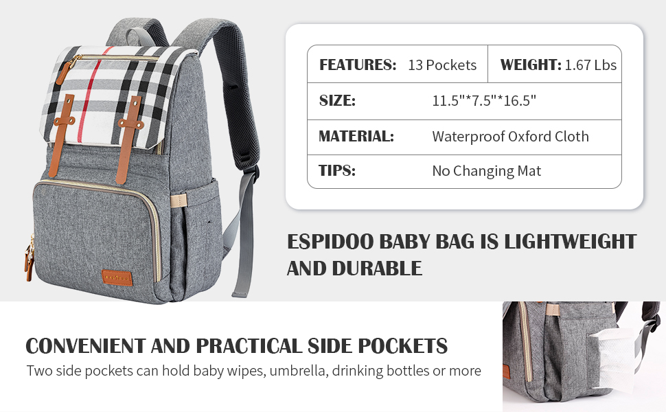 baby diaper back pack for boy