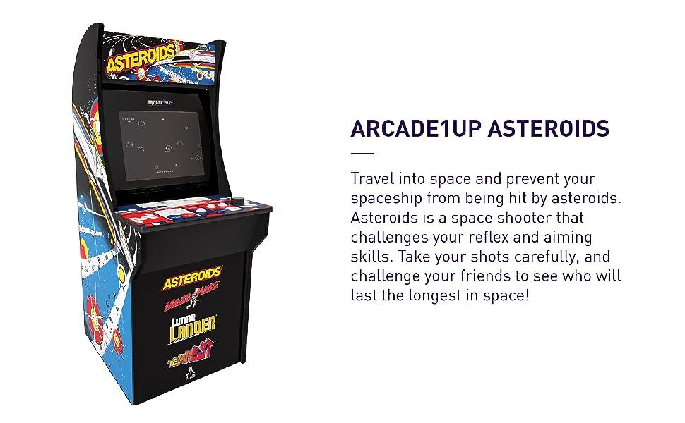 arcade1up, asteroids, major havoc, lunar lander, tempest, home arcade, arcade cabinet, game cabinet