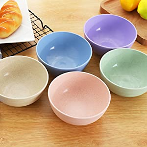 Our bowls come in five colors and cute styles that are great for kids.