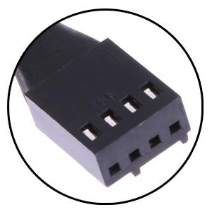 fan extending power cable