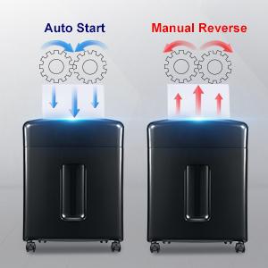 Auto Reverse Jam Proof System