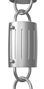Barrel Rain Chain (gray)