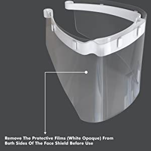 remove protective films