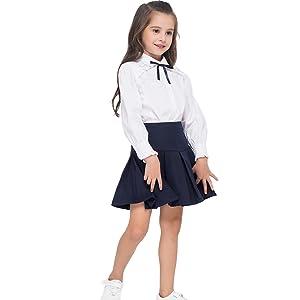 girl uniform skirt