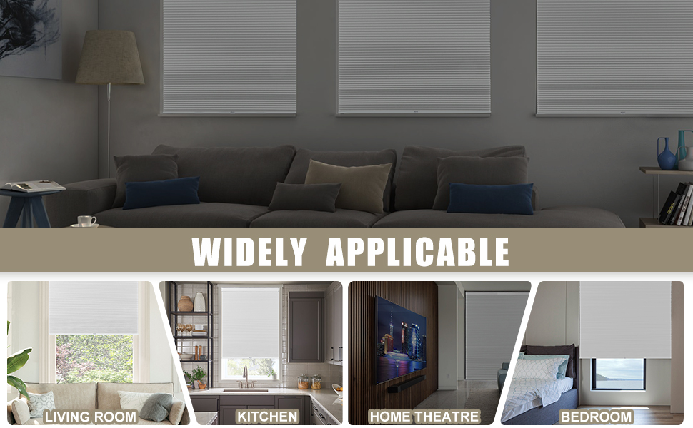 cordless cellular shades for window