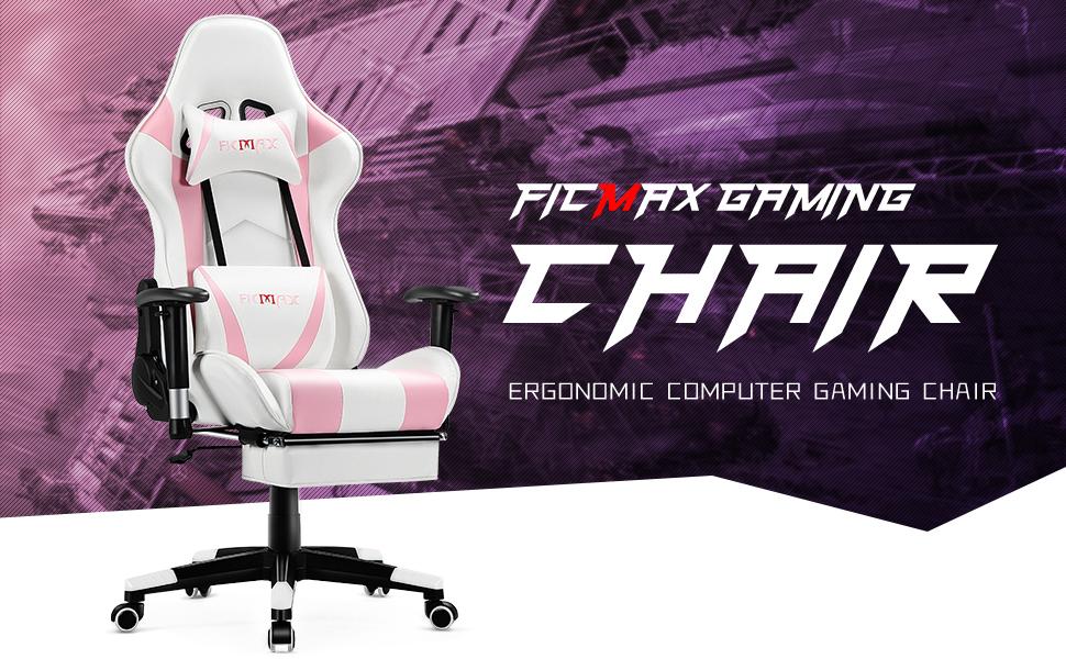 Ficmax girl gaming chair