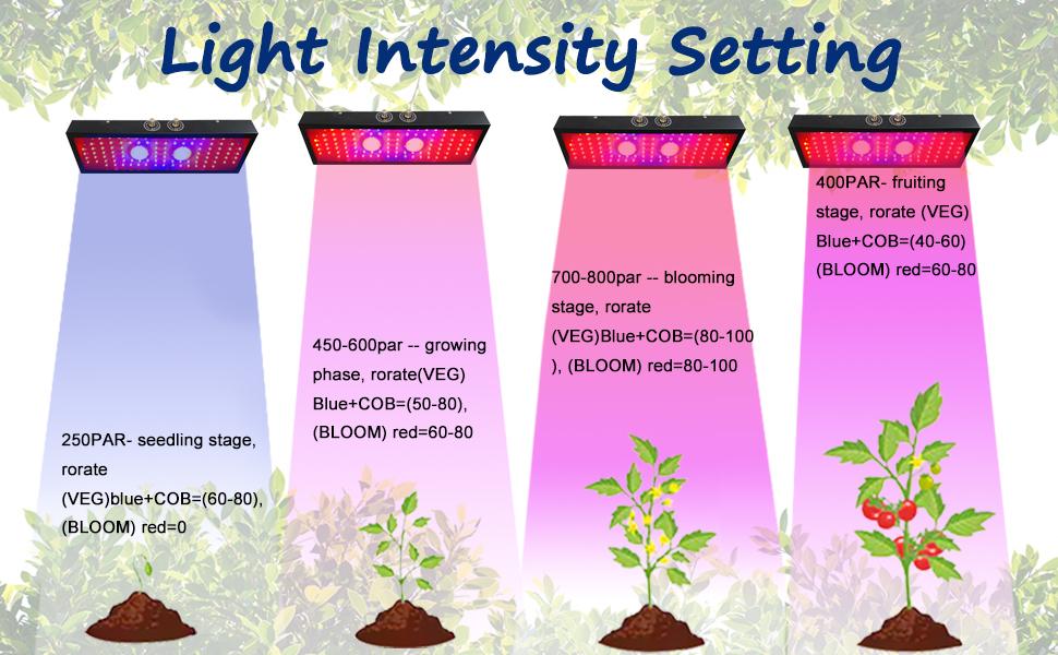 2000W indoor grow lights, full spectrum grow light, led plant light, led grow light bulbs