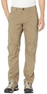 Mens Cargo Pants Casual Tactical Ripstop Cargo Hiking Work Pants,Khaki