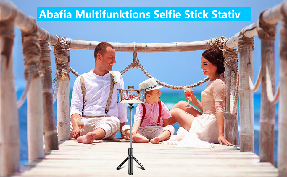 Selfie stick stative