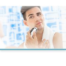 Spiegelheizung um das Beschlagen des Spiegels nach der Dusche zu vehindern