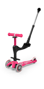 Mini 3in1, mini 3in1 deluxe plus, micro toddler scooter, micro push scooter, 3in1 scooter