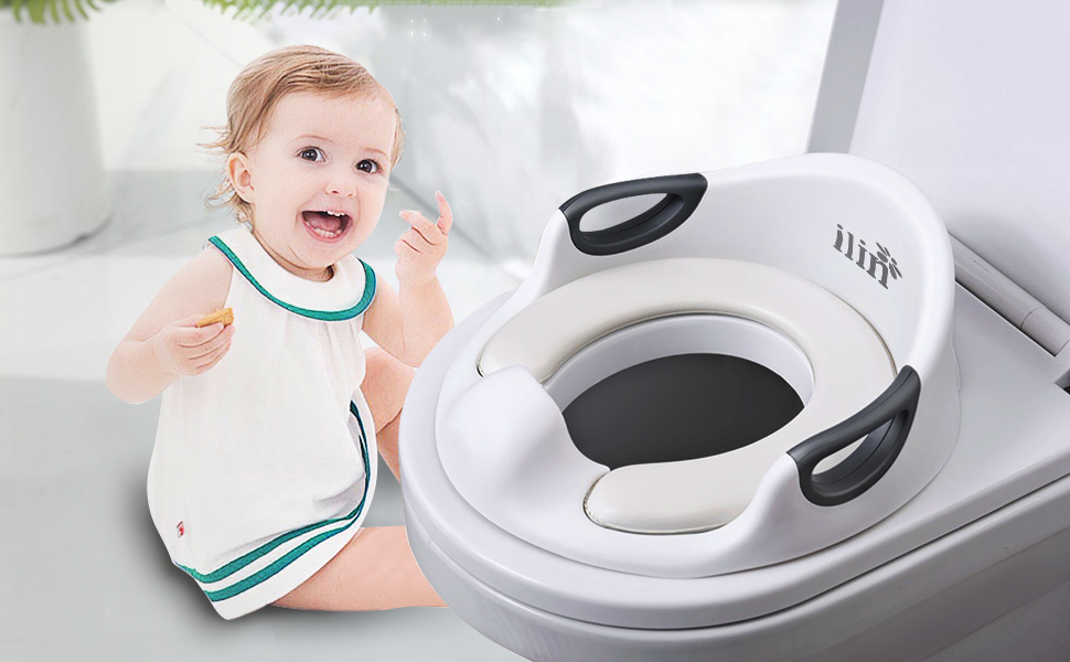 LYUK Baby Potty Safety\s Travel Portable Potty for Boy and Girl,Children\s Potty Urinal Toddlers Training Seat Suitable for Camping Vacation Rose Travel