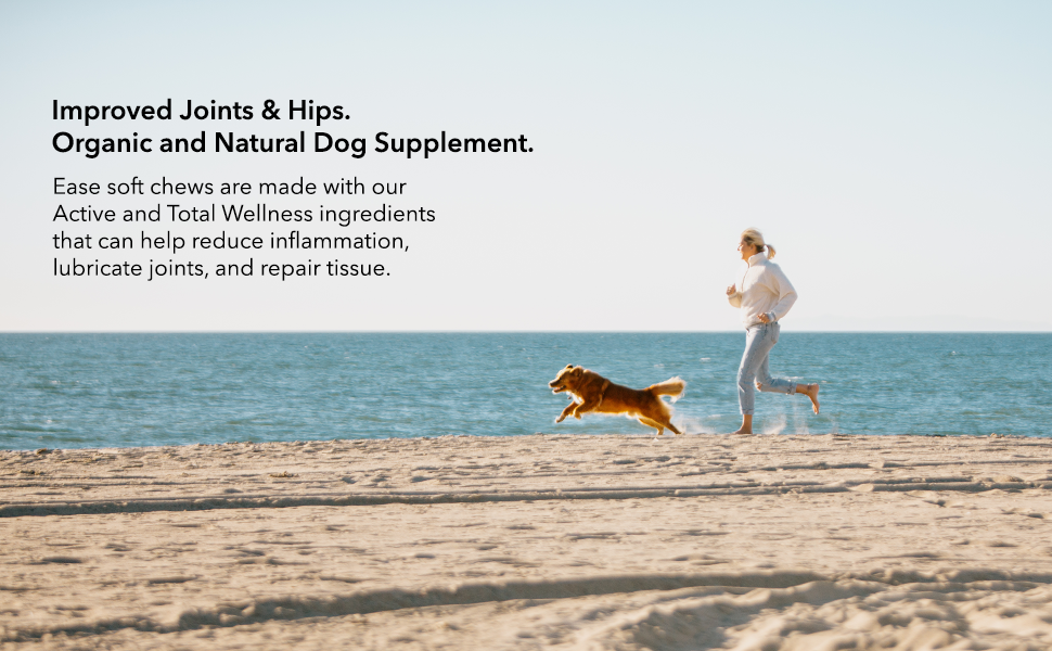 green gruff ease organic joint and hip supplement chews to reduce skin irritation