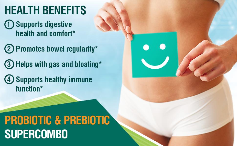 prebiotics probiotics ibs leacky gut bloating