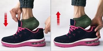 Senza Nodo No Tie Lacci Elastici Scarpe di YuhooTech