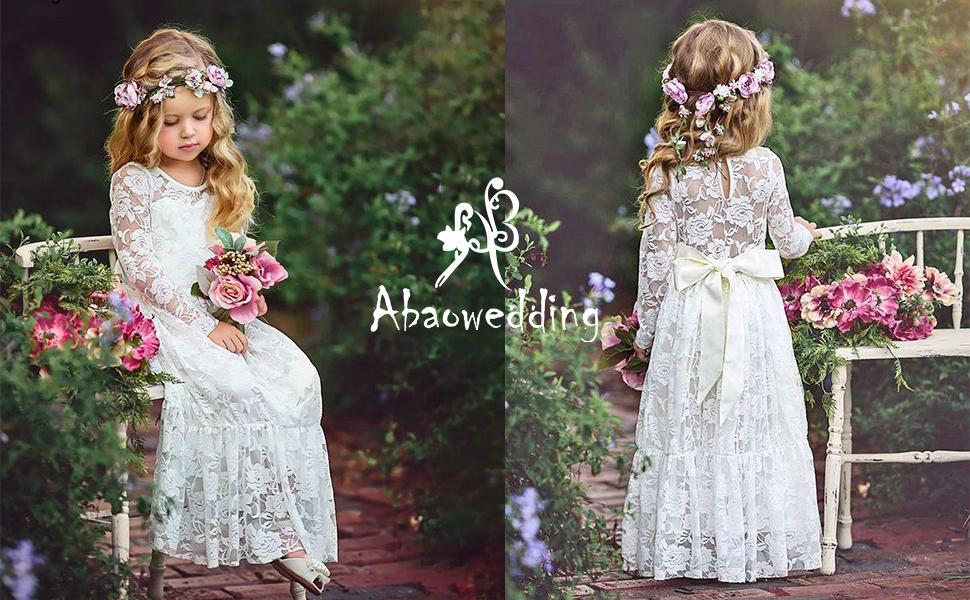 flower girl dress white flower girl dress girls lace dress lace dress toddler lace dress boho flower girl dress flower girl dress lace