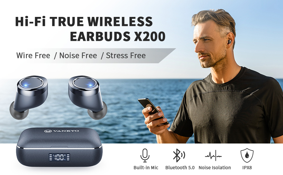 Vankyo X200 True Wireless Earbuds